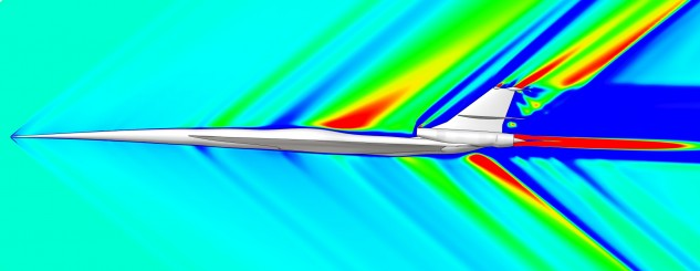 Aeronautics Design Solutions - Part 2: Sonic boom prediction for supersonic aircraft