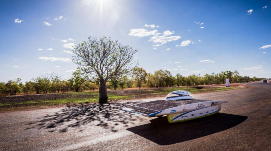 2017 World Solar Challenge - The new race to the sun